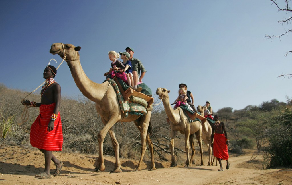 child friendly camel safaris activities in kenya