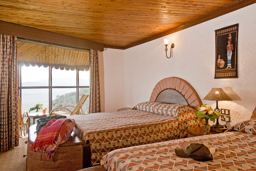 ngorongoro sopa lodge rooms