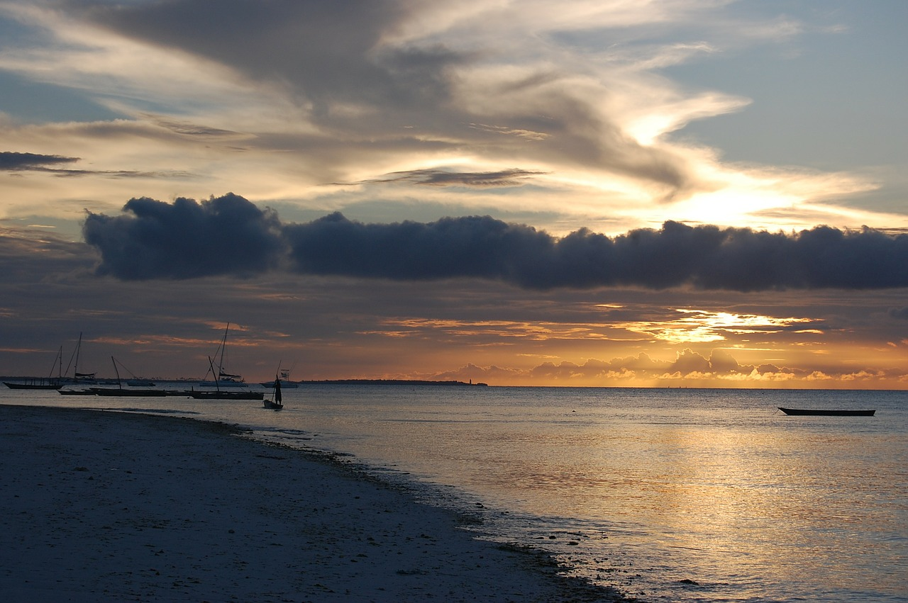 Zanzibar Beach Holiday Sunset